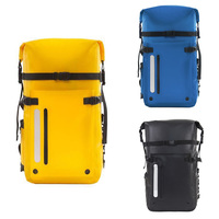 PVC Swimming Backpack 30L Outdoor Diving Foldable Storage Fully Sealed Waterproof Bag Dry Bag For Man Women Rafting Kayak