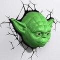 Lаmpara quitamiedos 3D DECO LIGTH YODA HEAD (Reacondicionado Certificado)