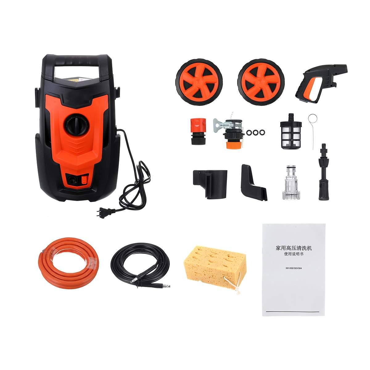 Auto Washer Guns Pumpe Waschen Gerät Auto Sprayer Hochdruck Reiniger Waschen Maschine Elektrische Reinigung Auto Gerät - 6