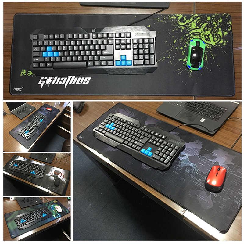 Игровой коврик для мыши с изображением лягушки, компьютерный геймер, большой коврик для мыши, Противоскользящий коврик для мыши с клавиатурой, коврики для ПК, ноутбука, Настольный коврик для отдыха