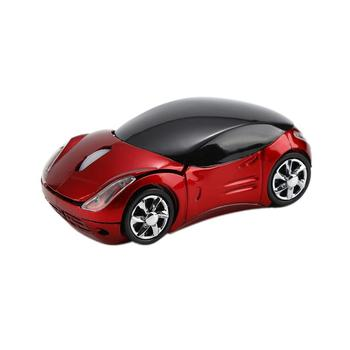 New Cool Car Shape Mice 1600 DPI USB Optical Wireless Computer Mouse 2.4G Receiver Super Slim Mouse For PC Laptop image