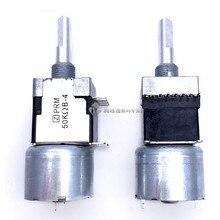 Моторный потенциометр RK168, стерео двухканальный B50K * 2, длина по оси 25 мм, устройство для разряда электроэнергии, привод, объемный потенциомет...