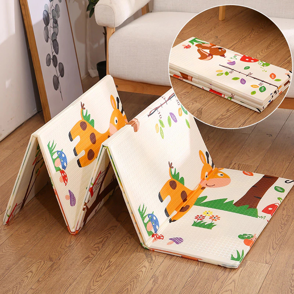 Foldable Baby Play Mat Folding Crawling Pad XPE Baby Room Carpet Children Floor Mat 200*150cm Playmat For Infants