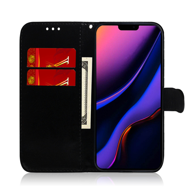 Gradient Colorful PU Leather Case for iPhone 11/11 Pro/11 Pro Max 1