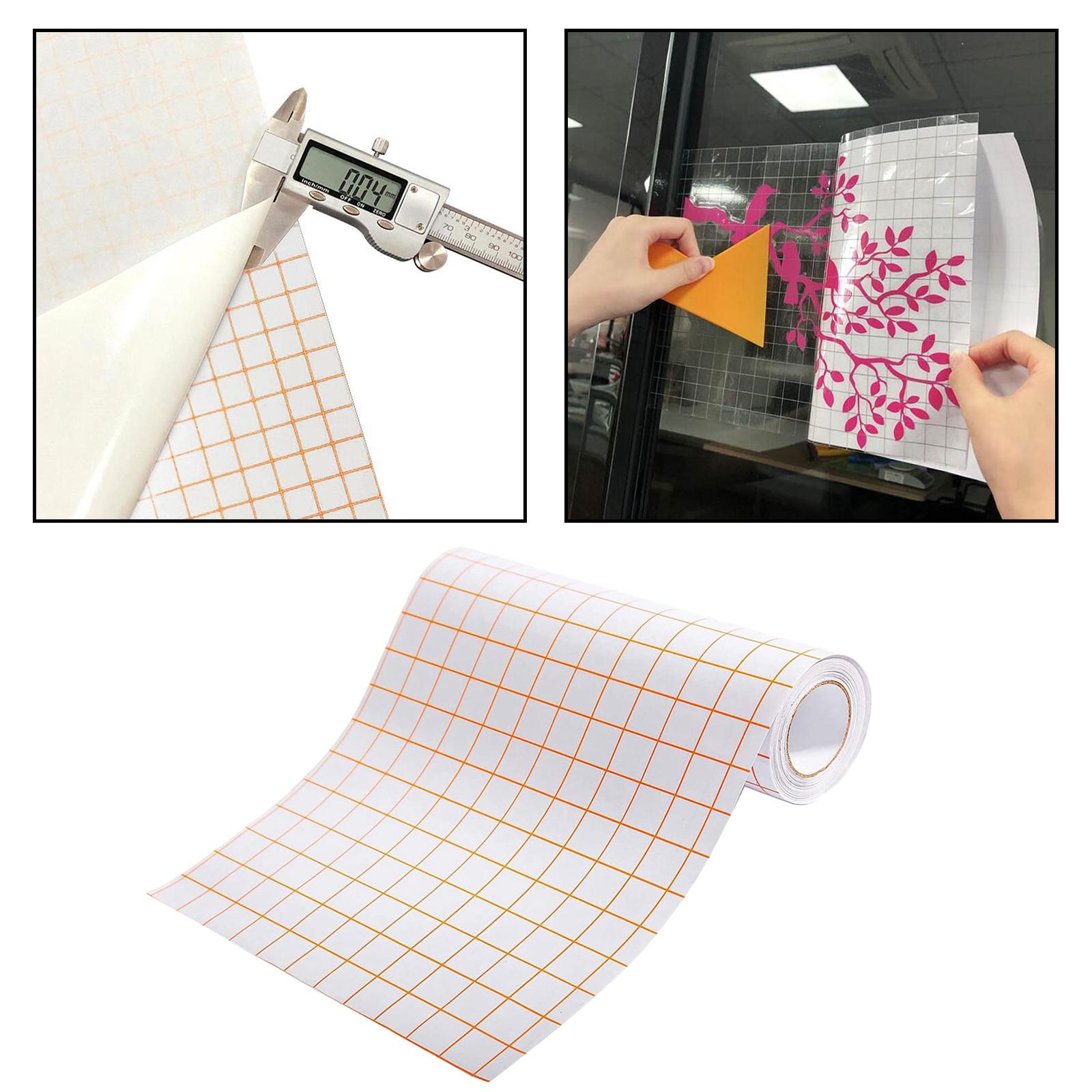 Transfer kağıt rulolar için vinil kendinden yapışkanlı uygulama kağıt bant PVC 1 rulo şeffaf ile iyi çalışır Cameo siluet