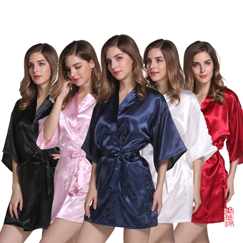 Satin Robe Bridesmaid Robes  Wedding Robe Bridal Robes Bride Robe  Silk Bridesmaid Robes Silk Bridesmaid Robes   WQ18