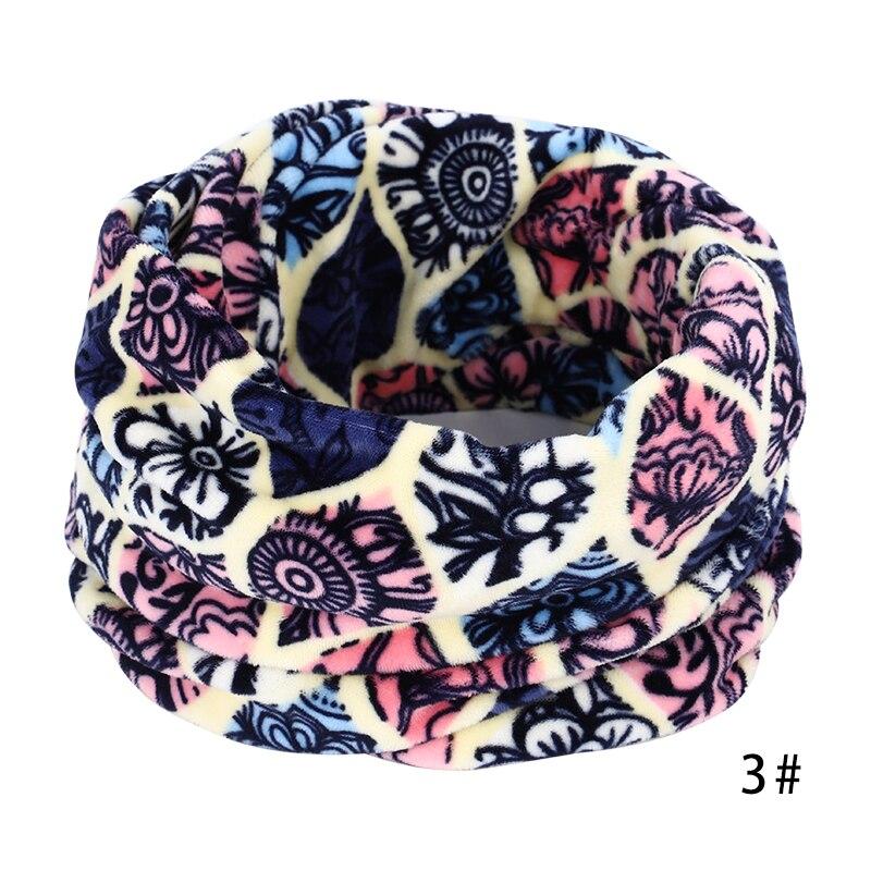 Новинка, осенне-зимний женский шарф с принтом для женщин, модный бархатный тканевый шарф, мягкий удобный женский винтажный шарф - Цвет: 3