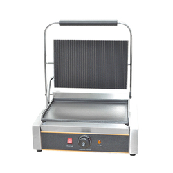 FY-812E 1 PLATE Sandwich Machine Griddle grills single panini plate griddle one contact grill