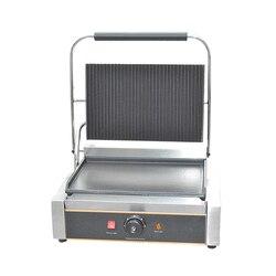 FY-812E 1 płyta maszyna do kanapek Griddle grille pojedyncza płyta panini griddle jeden kontakt grill