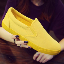 Men and Women Breathable Canvas Casual Shoes Student Loafers