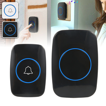 Wireless Smart Door Bell AC 110-220V Waterproof 300m Range US EU Plug Home Intelligent Door