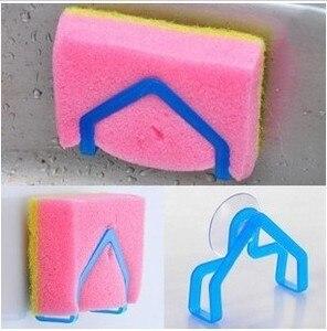 Hot Sale Bathroom Sets Super Suction Family Sucker Hooks for Sponge Kitchen Accessories