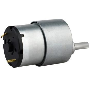 2019 nueva llegada 12v Dc reductor de engranaje de Metal Motor de torsión de alto Motor de engranaje de 80rpm relación de reducción 1: 90 Motor Gm37-3525
