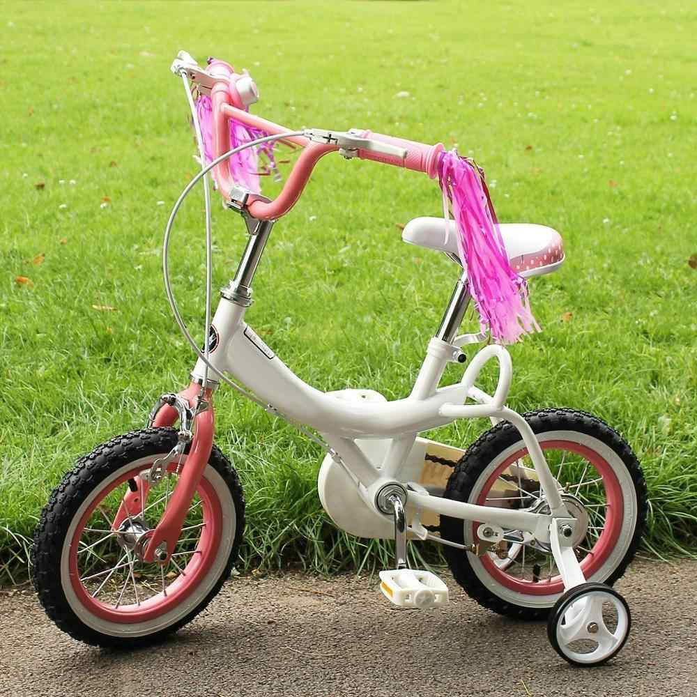 2Pcs Bowknot Girls Boys Bicycle Front Basket Childs//Kids for Bike Cycle Tricycle