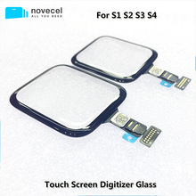 38mm 42mm touch screen digitizer glass lens panel for apple watch series 2 series 3 38mm 42mm touchscreen repiar parts Novecel ORI Touch Screen Digitizer Panel Repair Parts  for Apple Watch Series 1 2 3 4 5 38mm 40mm 42mm LCD Front Sensor Replace