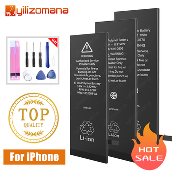 YILIZOMANA Original Handy Batterie Für iPhone5s 6 6s Ersatz Batterie Interne Bateria Für iPhone 6plus batterie