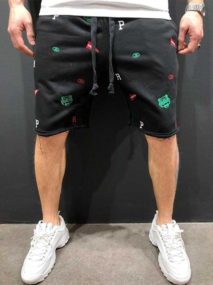 Mens Shorts Durable Sweatpants Fitness Workout Cotton Shorts Brand Men Shorts Men's Short Trousers Fitness Bodybuilding Jogger
