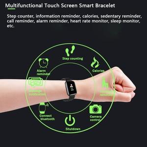 Image 3 - Rovtop Smart Uhren 116 Plus Herz Rate Monitor Blutdruck Smart Armband SSmart Band Smartwatch Android Iphone