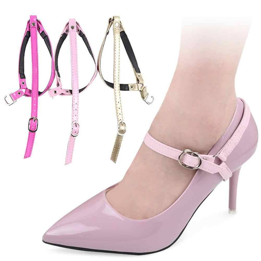 المرأة الحذاء ل الكعب العالي الحذاء قابلة للتعديل حزام الكاحل عقد مكافحة للانزلاق حزمة الأربطة أشرطة للربط الفرقة الأحذية الديكور