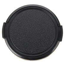 1pc 58mm Camera Lenses Caps Black Plastic Snap On Front Lens Cap Protection Cover High Quality Camera-Lens-Cap For Canon 52mm camera lens cap cover