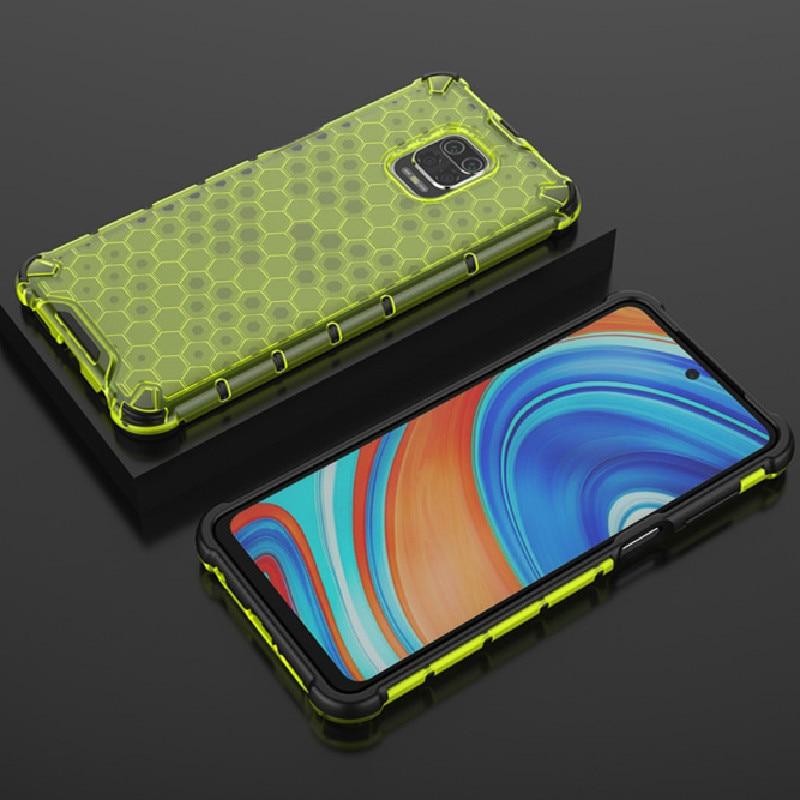 Rugged Bumper Transparent Full Cover for Xiaomi Redmi Note 9s Luxury Armor Phone Case for Redmi Note 8 9 S Pro Max 8T K30 10X