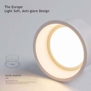 Image 3 - [DBF]No Flickering Deep Glare LED COB Recessed Downlight 5W 7W 12W 15W Round White LED Ceiling Spot Light Pic Background