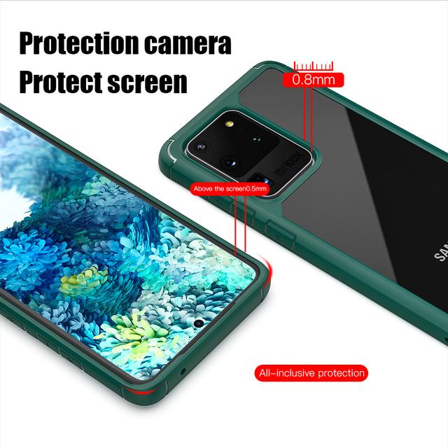 Baseus Samsung S20 Plus Ultra Shockproof Armor Back Case Cover