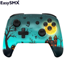 EasySMX YS06 Bluetooth Gamepad Pro Controller For Nintendo Switch Accessories 6 Axis Groy Vibration Control (Halloween)