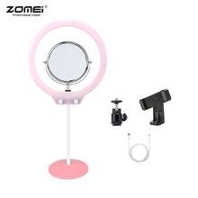 ZOMEI ZM128 Portable Camera Photo Studio Phone Video 128 LED Ring Light 3200K-5600K for iPhone X/8/7 Plus for Canon Nikon Sony