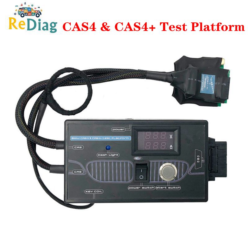 Newest Upgrade Test Platform For BMW CAS4 & CAS4+ Programming For BMW CAS4 CAS4+ Keys By OBD Avoid Car Data&Power Loss