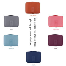2019 New Women Cosmetic Bag Nylon Toiletry Kit Organizer Waterproof Portable Makeup Bag Travel Case Wash Pouch Cosmetic Bag