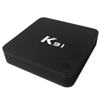 K91 S905L Android 7.1 Smart Set Top TV Box Quad Core 1GB RAM 8GB ROM BT Set Top Box Home Smart Television Media Player image