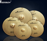 Arborea 5 pieces  mute cymbal,including 14\