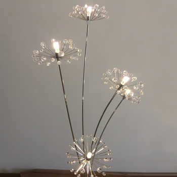 Modern LED Floor Lamps for Bedroom Decors Dandelion Design Decorative Lighting Fixtures
