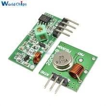 Módulo de transmisor y receptor RF de 433 Mhz, Kit de enlace para brazo/MCU WL DIY, 315MHZ/433 MHZ, Control remoto inalámbrico para arduino Diy