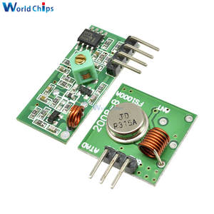 Receiver Module Rf-Transmitter Link-Kit Remote-Control DIY 315MHZ/433MHZ Wireless