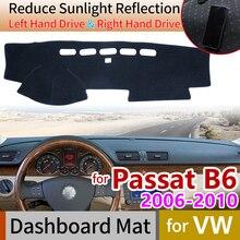 цена на for Volkswagen VW Passat B6 2006~2010 3C Anti-Slip Mat Dashboard Cover Pad Sunshade Dashmat Carpet Accessories 2007 2008 2009