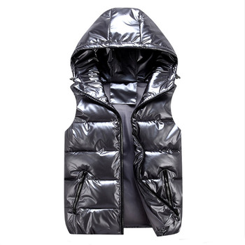 Vests Children Hoodies Warm Baby Girls Outerwear Kids Glossy Coats Boys Shiny Jackets Autumn Winter Down Waterproof  Waistcoat 2020 new boys jackets parka baby outerwear childen winter jackets for boys down jackets coats warm kids baby thick cotton down