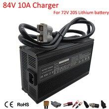 Chargeur intelligent rapide au Lithium 900W 72V 10a, avec sortie 84V 10a, pour batterie 72V 20S Li ion Ebike, moto, chariot élévateur