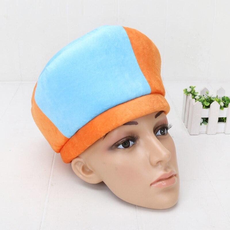 Blippi Hat Cap Stuffed Toys Blippi Cosplay Hat Kids Gift Unisex Children Plush Toy