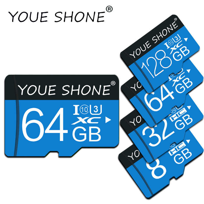 Micro SD 8 GB 16 GB 32 GB Đĩa TF/Micro SD Card 64 GB 128 GB SDHC class 10 Mini SD Thẻ Carte Micro SD