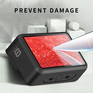 Image 5 - Защитная пленка из закаленного стекла для Gopro Hero 8, спортивная защита для экрана камеры, защитная пленка, аксессуары для камеры