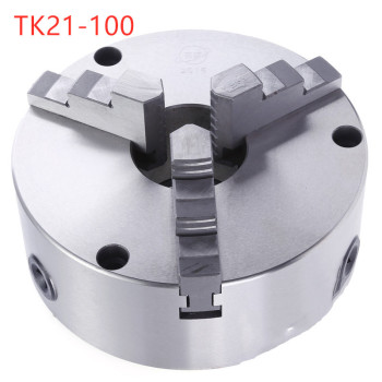 TK21-100 3-jaw self-centering chuck front perforation