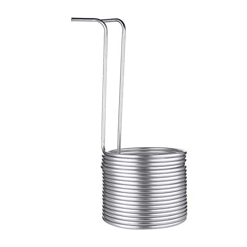 Stainless Steel Immersion Wort Chiller Tube for Home Brewing Super Efficient Wort Chiller Home Wine Making Machine Part  9.52mm|Home Wine Making Machines| |  - title=
