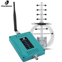 4g repeater Mobile Five Band Amplifier gsm 3g 700 850 1800 2100 2600 GSM Repeater DCS WCDMA 2G 3G LTE Cellular Signal Booster