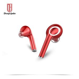 Image 1 - QH22 Fingerprint Touch Drahtlose Kopfhörer Bluetooth V5.0 3D Stereo Dual Mic Noise cancelling kopfhörer