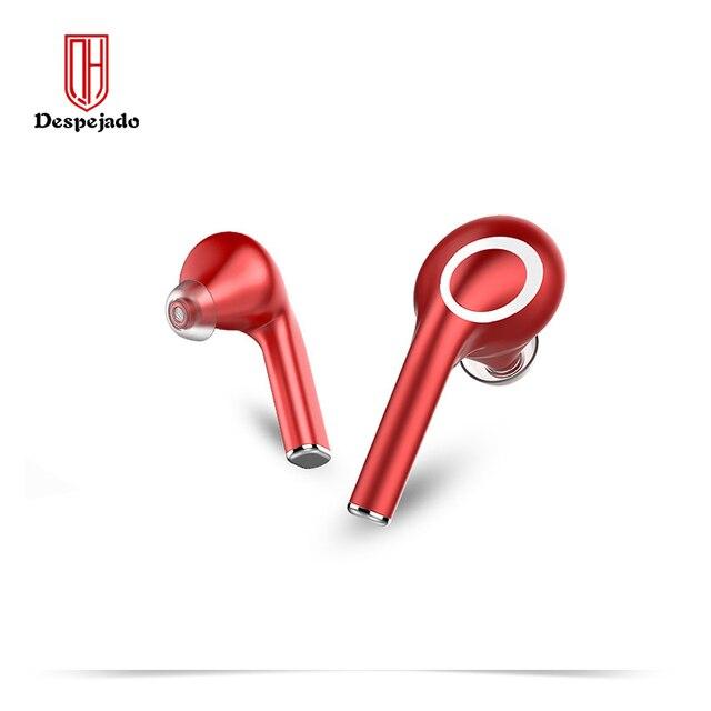 QH22 Fingerprint Touch Drahtlose Kopfhörer Bluetooth V5.0 3D Stereo Dual Mic Noise cancelling kopfhörer