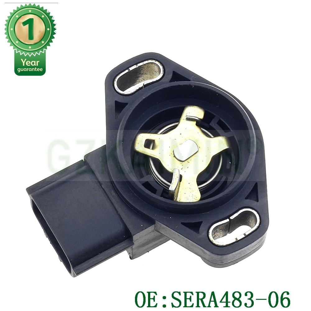 Высококачественный и Новый Датчик положения дроссельной заслонки TPS SNEOSR SERA483-06 13420-77E00 для Forester Impreza Legacy FORChevrolet
