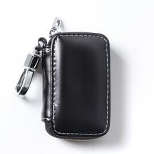цена на 1X Car Key Case Bag Remote Cover Accessories For Hyundai elantra gt santa fe tucson getz solaris i30 ix35 accent  i20 creta i40