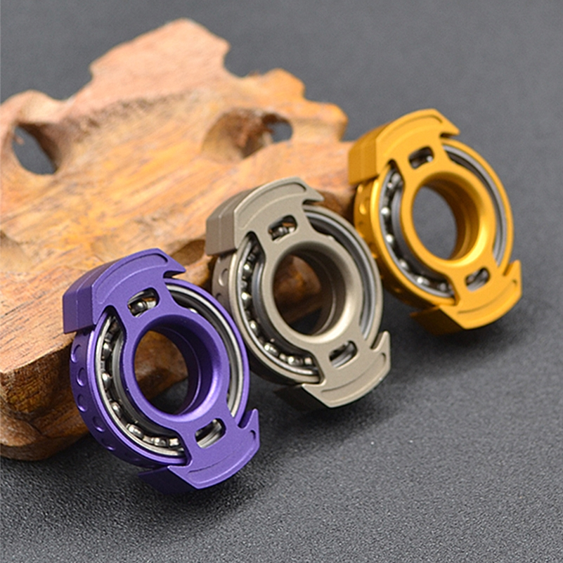 Figet Toys Fidget-Spinner Stress-Relief-Toys EDC Antistress Metal Energy-Reactor Mute